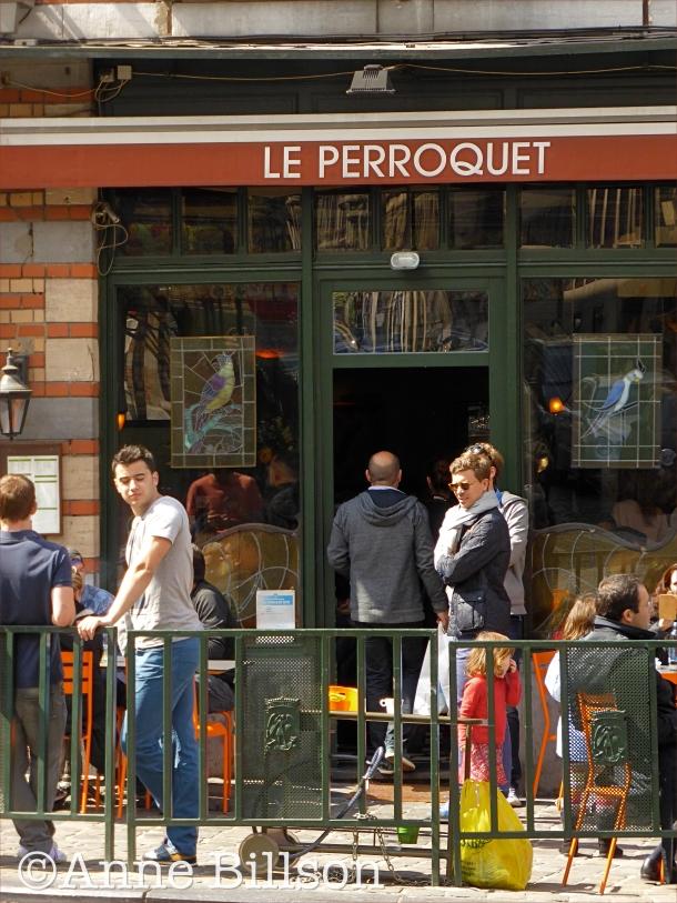 De buitenkantvan de Perroquet:
