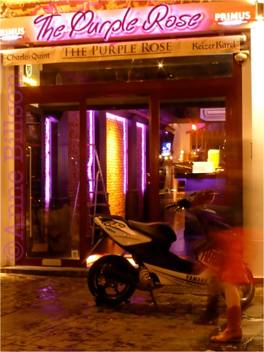 The Purple Rose: Grasmarkt, Brussel.