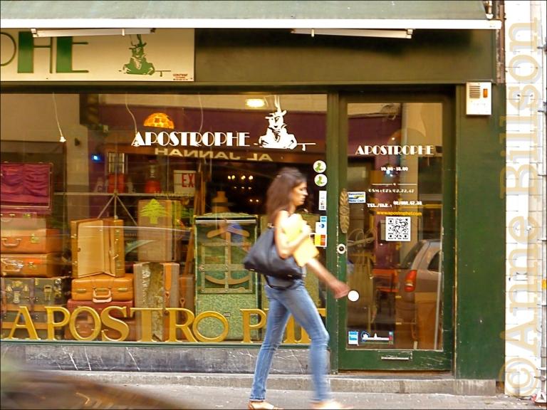Blaesstraat vensters: Blaesstraat, Brussel.