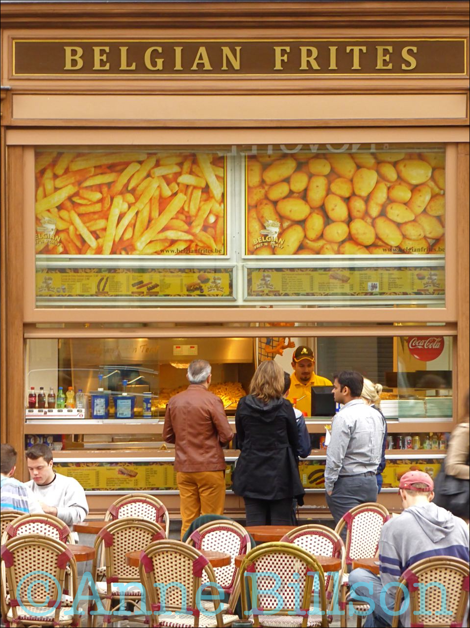 Belgian frites bis – L'EMPIRE DES LUMIÈRES