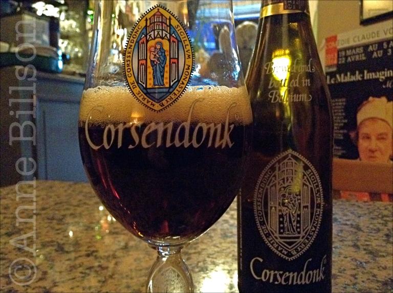 Corsendonk bruin, 6.5%: Le Châtelain, Kasteleinsplein, Elsene.