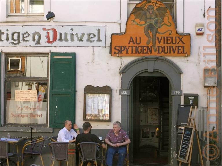 Au Vieux Spijtigen Duivel: Alsembergsesteenweg, Ukkel.