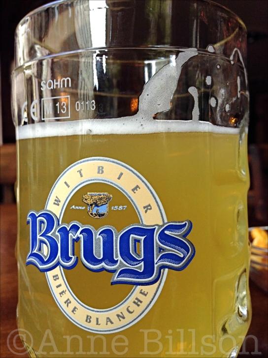 Brugs Witbier, 4.8%: Grimbergen Café, Sint-Katelijneplein 22, Brussel.