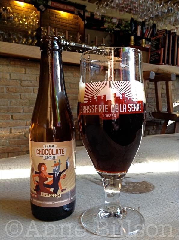 Belgian Chocolate Stout, 4.5%: Moeder Lambic, Savoiestraat 68, Sint-Gillis.