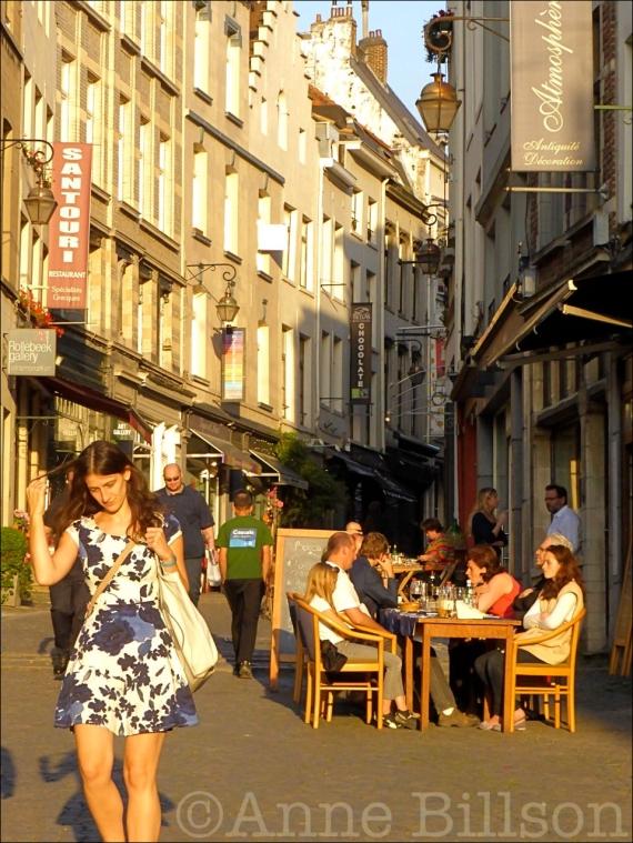 Santouri: Rollebeekstraat, Brussel.