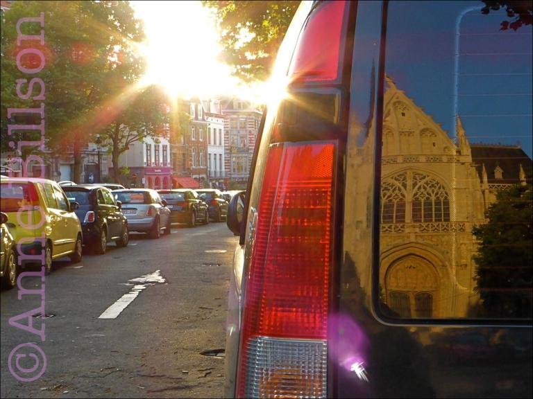 Grote Zavel parkeerplaats: Grote Zavel, Brussel.