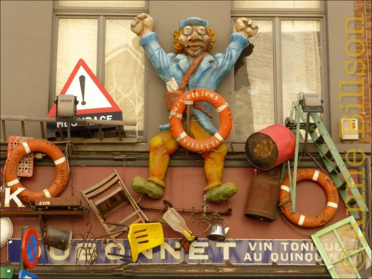 Stefantiek: Joseph Stevensstraat, Brussel.