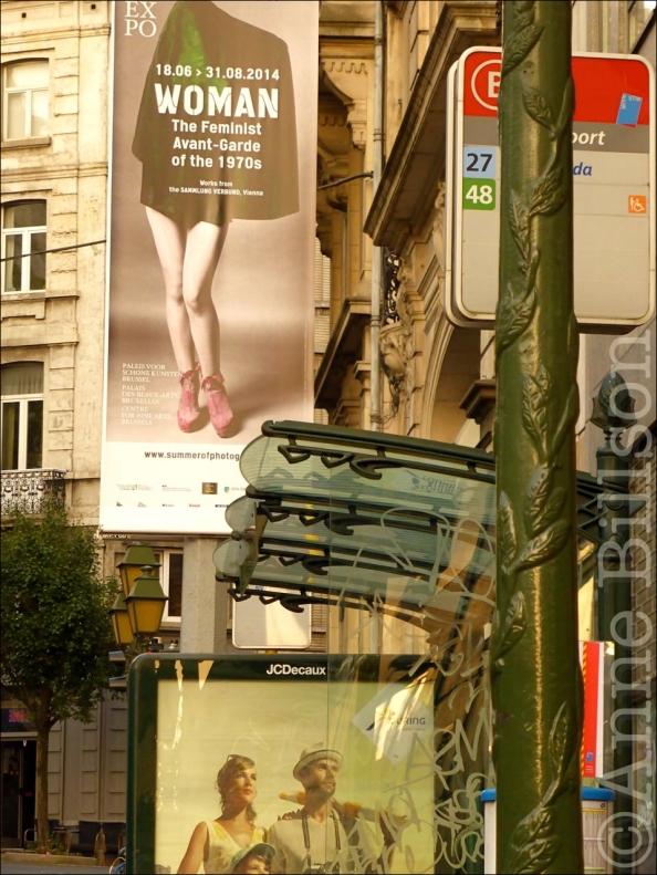The Feminist Avant-Garde: Hallepoortlaan, Sint-Gillis.