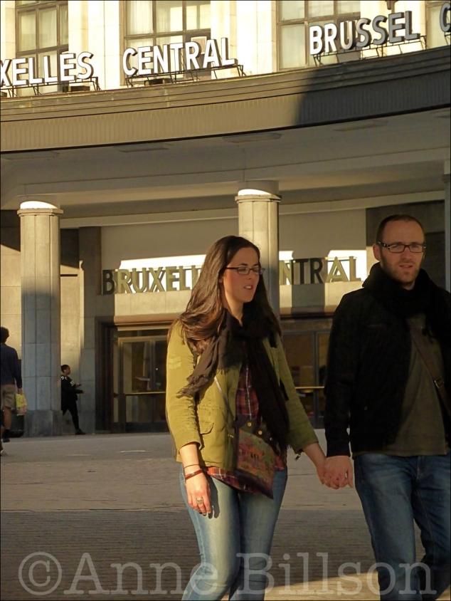 Brussel Centraal: Europakruispunt, Brussel.