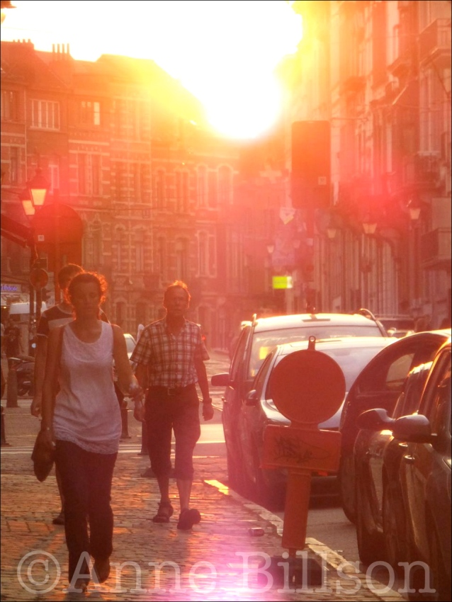 Lensgloed: Waterleidingsstraat, Elsene.