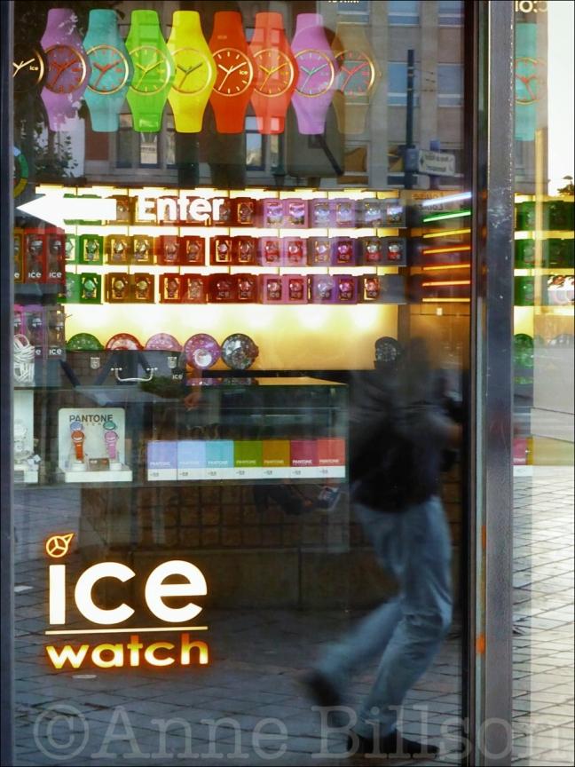 Ice watch: Gulden-Vlieslaan, Elsene.