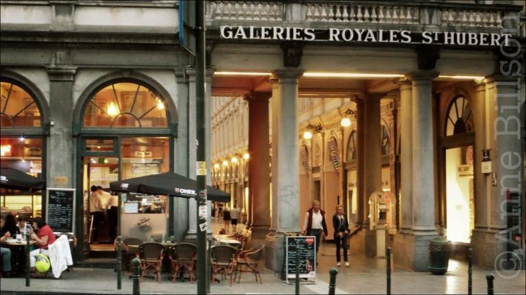 De galerijen van Arenbergstraat: Brussel.