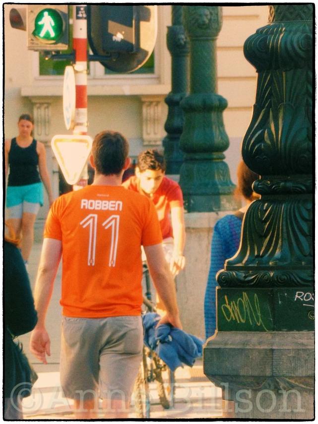 Hup Holland Hup (na het Wereld Kop): Koningsplein, Brussel.
