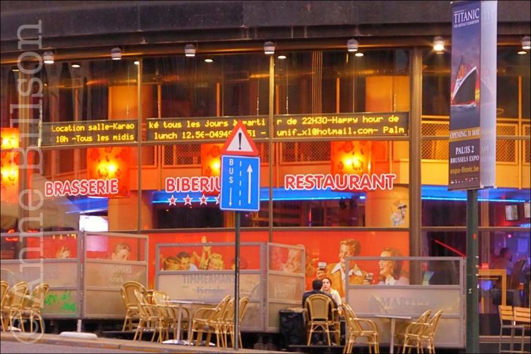Biberium: Cantersteen, Brussel.