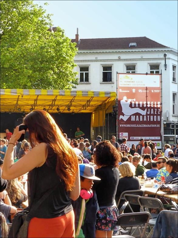 Brussels jazz marathon: Fernand Cocqplein, Elsene.