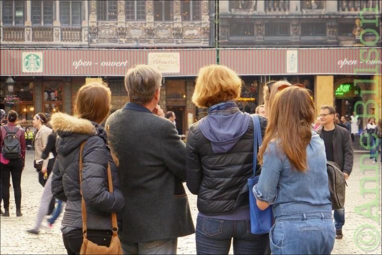 La Brouette: Grote Markt, Brussel.