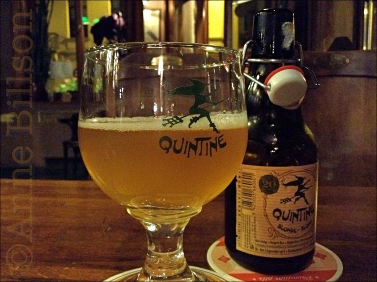 Heks! Quintine blond (8%): Le Bistro des Restos, Edelknaapstraat 39, Elsene.