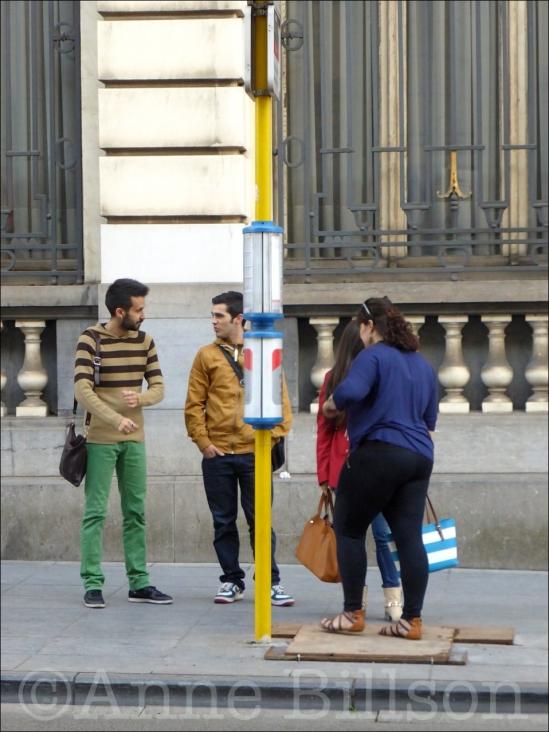 Koning tramhalte: Regentschapsstraat, Brussel.