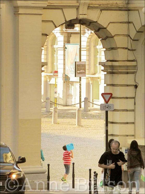Poort: Koningsplein, Brussel.