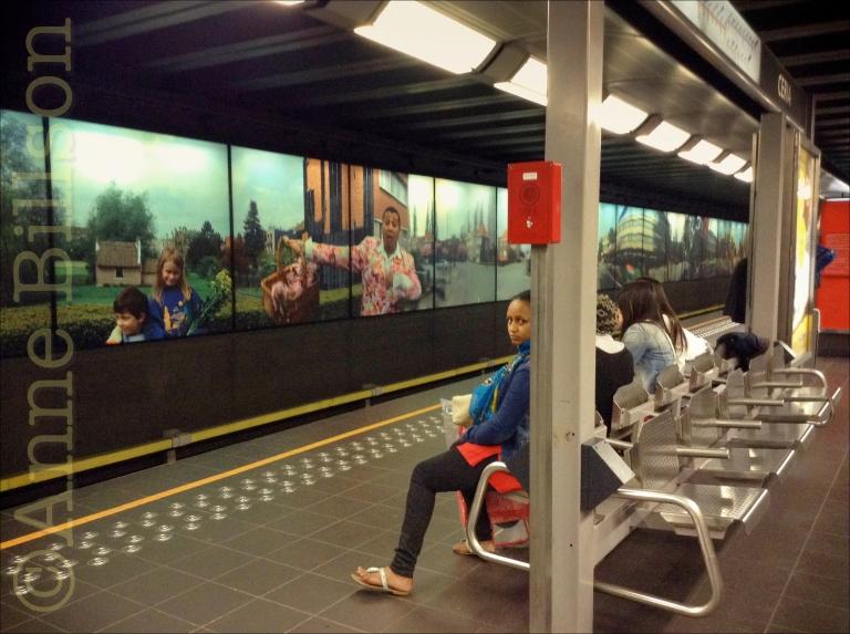 Coovi metrostation: Anderlecht.