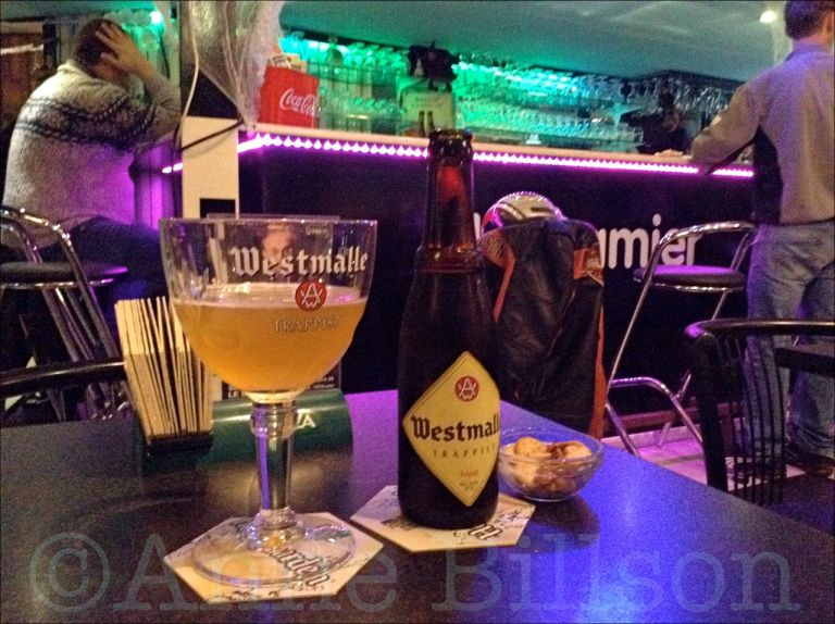 Westmalle Tripel, 9.5%: Le Damier, Waterloosesteenweg 584, Elsene.