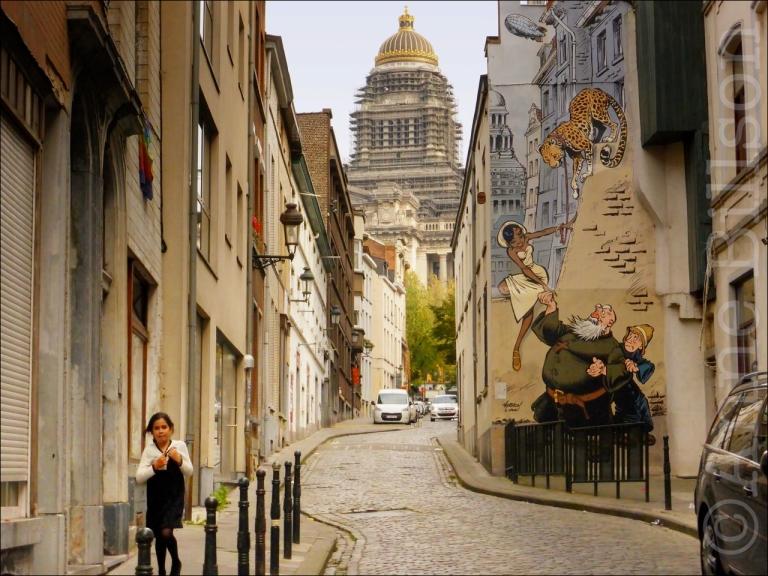 Kapucijnenstraat, Brussel.