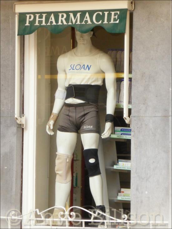 Sloan: Naamsestraat, Brussel.