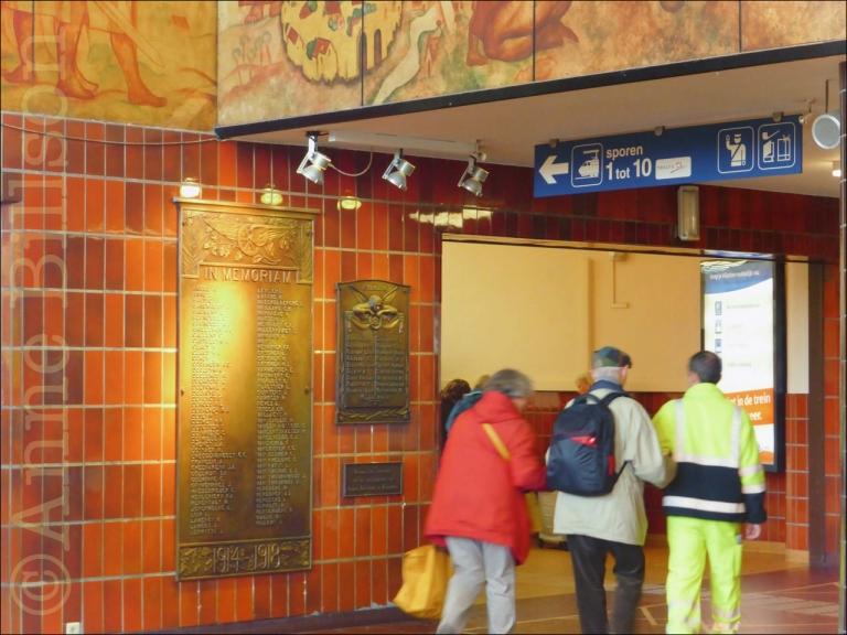 In memoriam: Station Brugge, Brugge.