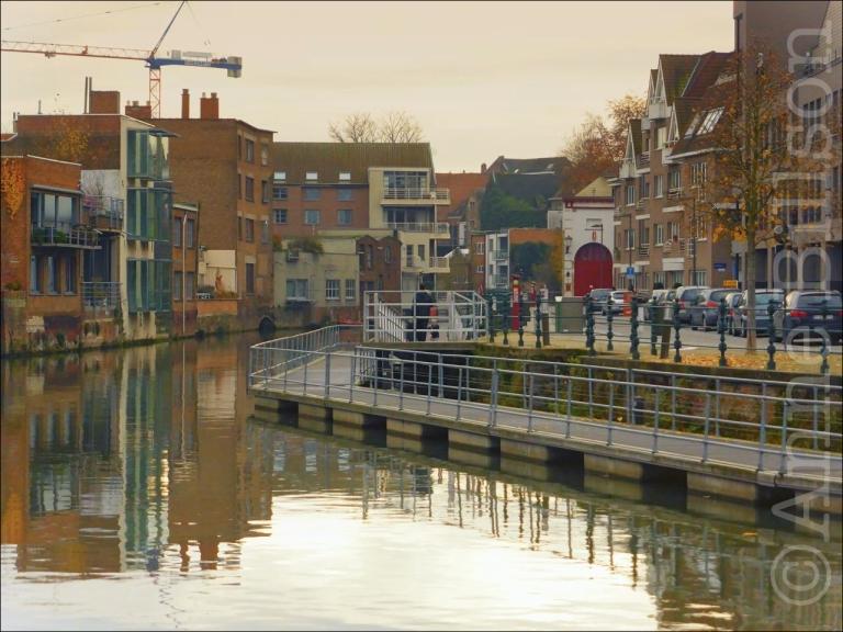 De Dijle: Mechelen.