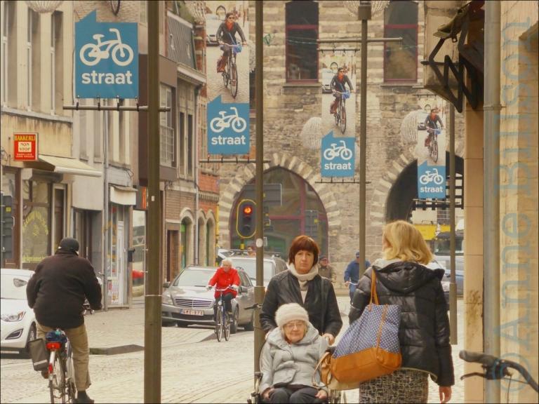 straat: Hoogstraat, Mechelen.