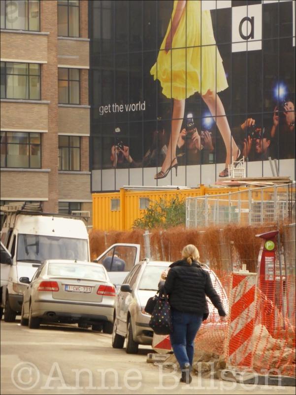 get the world: Sanoma Magazines België, Van Kerckhovenstraat, Mechelen.