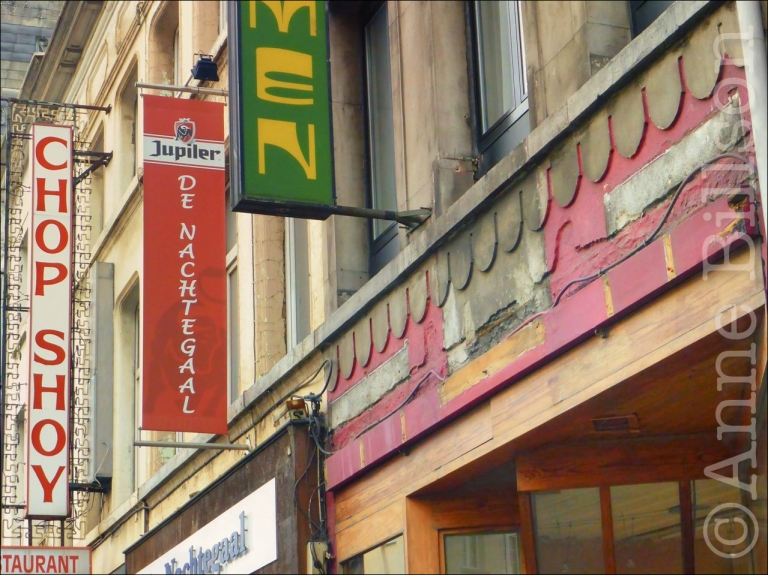 Chop shoy: Leopoldstraat, Mechelen.