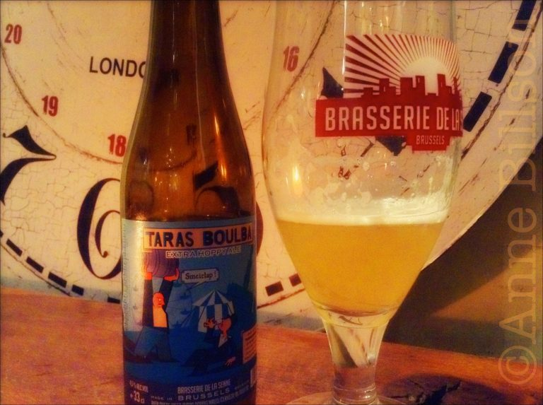 Taras Bulba, 4.5%, Brasserie de la Senne: le Renard Bleu, Vossenstraat 5, Brussel.