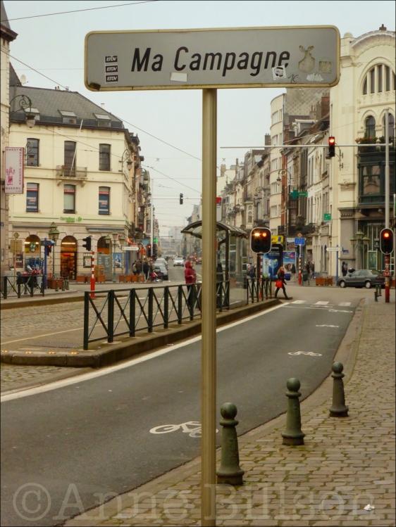 Ma Campagne: Brugmannlaan, Sint-Gillis.