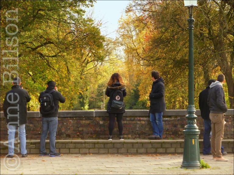Kijken naar het kanaal: Brugge.