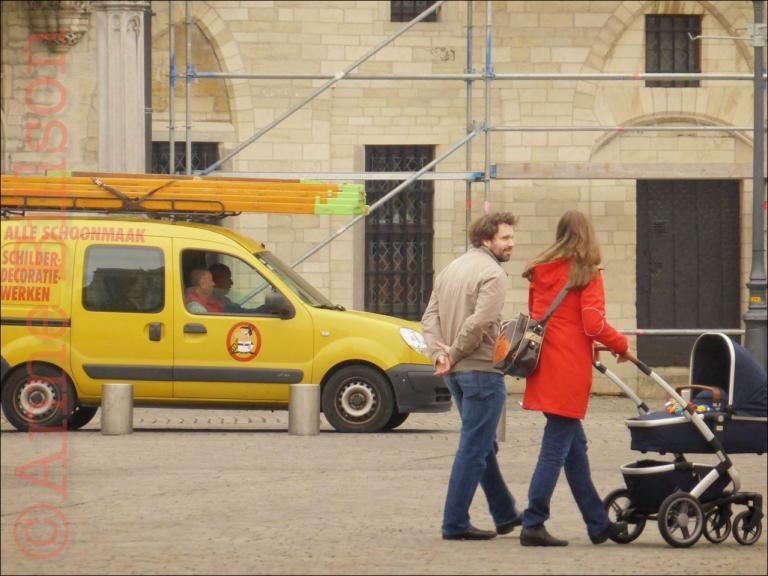 Alle schoonmaak: Grote Markt, Mechelen.