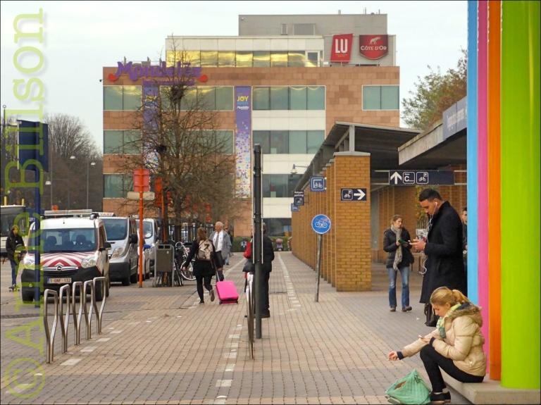 Mondelez: Stationsstraat, Mechelen.