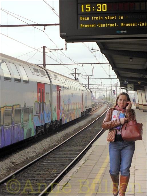 Deze trein stopt in: Station Mechelen.