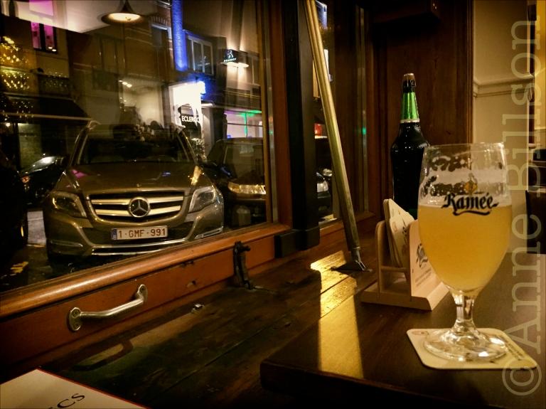 Ramée bij het raam: Ramée wit, 5%, Le Bistro des Restos, Edelknaapstraat 39, Elsene.