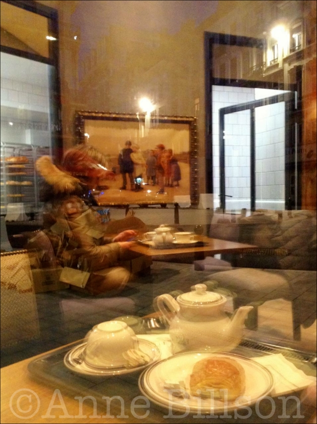 Een kopje thee: Paul, Onderrichtstraat 2, Brussel.