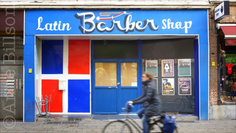 Latin Barber Shop: Sint-Jacobsmarkt, Antwerpen.
