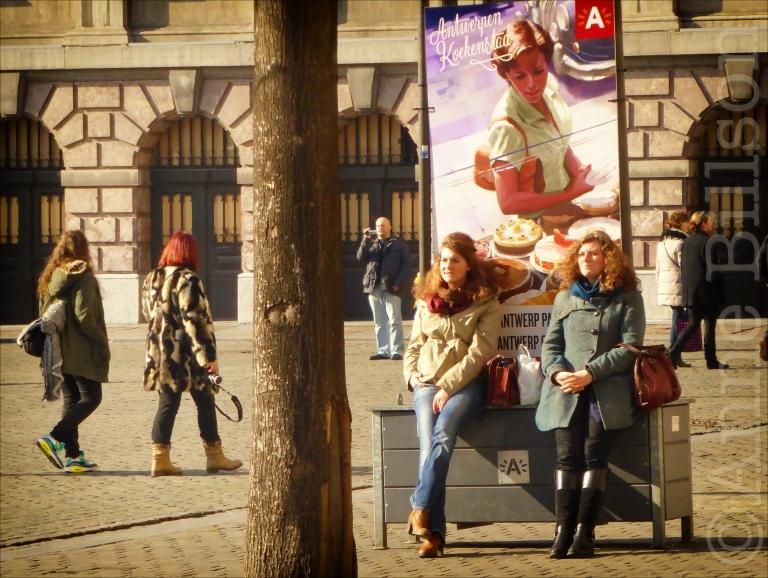 Antwerpen koekenstad: Grote Markt, Antwerpen.