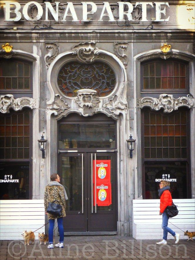 Bonaparte: Grote Markt, Antwerpen.