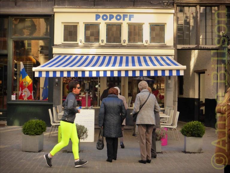 Popoff: Oude Koornmarkt 18, Antwerpen.