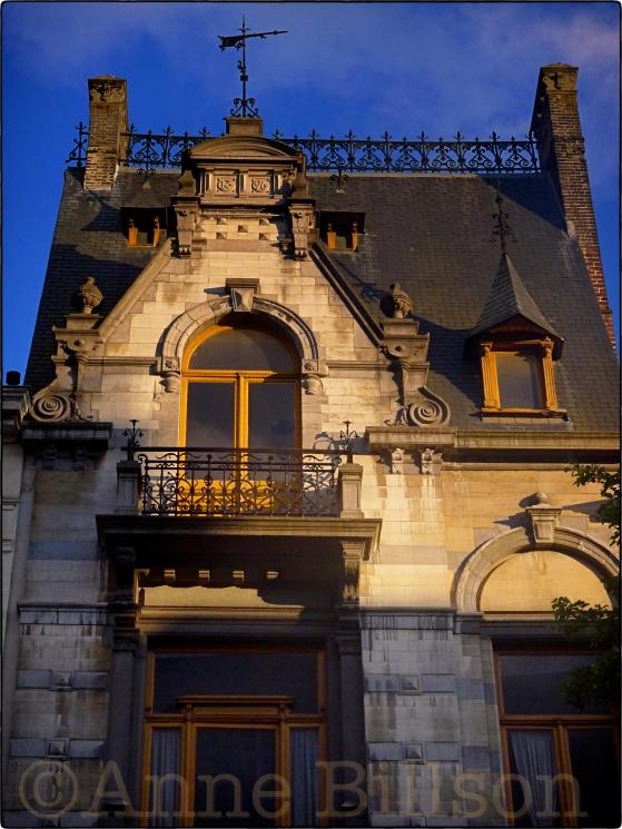 Addams Family huis: Ducpétiauxlaan, Sint-Gillis.
