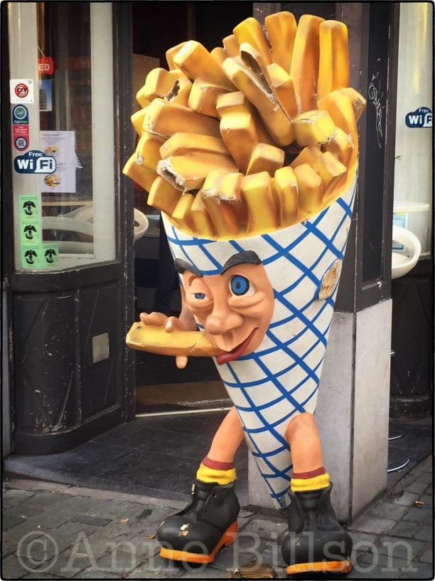 Hersenen: Bergstraat, Brussel.