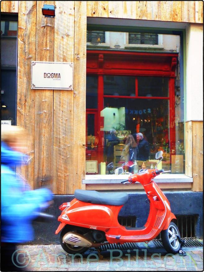 Dogma cocktails: Wijngaardstraat, Antwerpen.