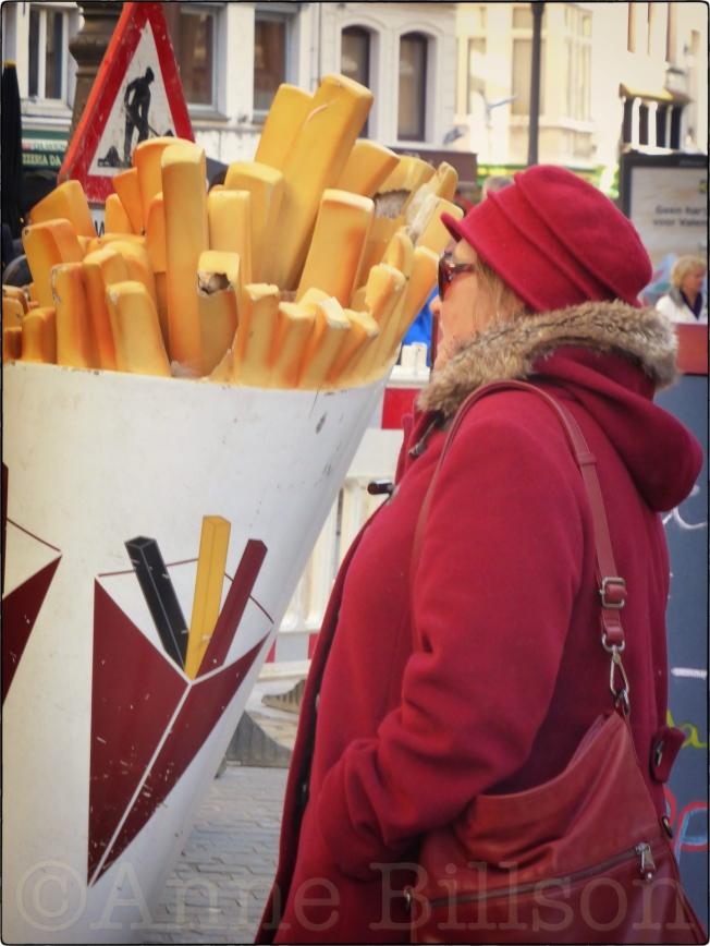 Grote frites: Suikerrui, Antwerpen.