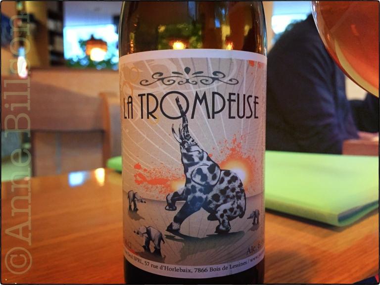 La Trompeuse, 6.9%: Bier Circus, Onderrichtsstraat 57, Brussel.