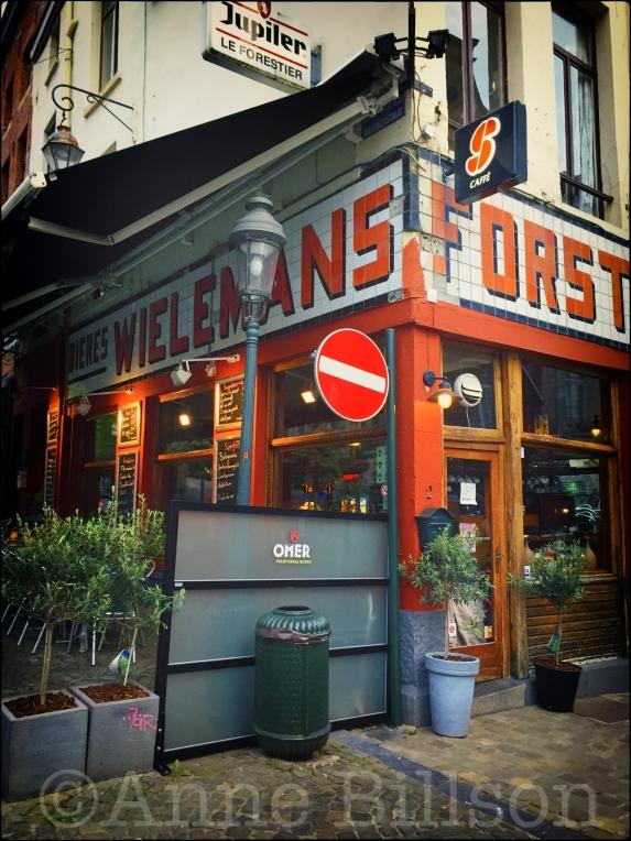 Westmalle tripel, 9.5%: Le Forestier: Hoogstraat 2, Brussel.